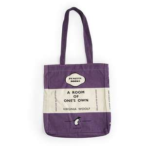 Sacosa Penguin (Book Bag) A Room of One's Own imagine