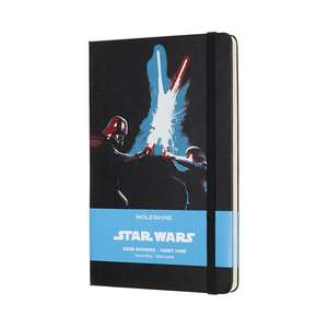 Moleskine Star Wars Limited Edition Lightsaber Duel Large Ruled Notebook Hard