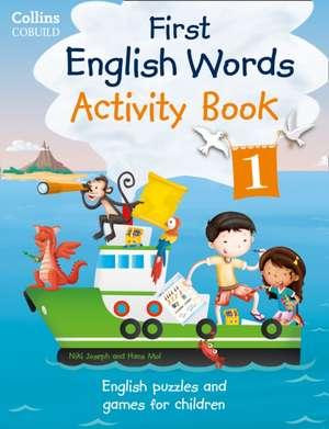 First English Words: Activity Book 1 de HarperCollins UK
