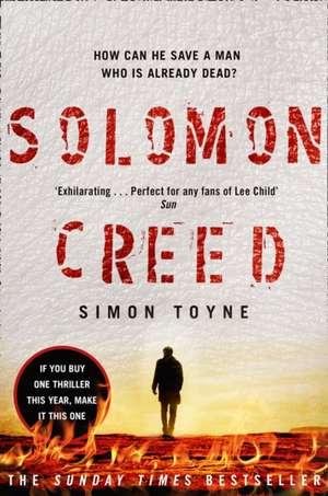 Solomon Creed de Simon Toyne