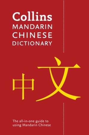 Collins Mandarin Chinese Paperback Dictionary de  Collins Dictionaries