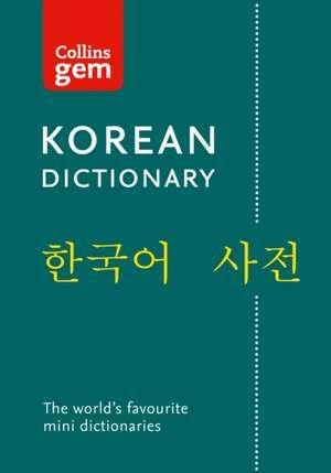 Collins Korean Gem Dictionary de  Collins Dictionaries