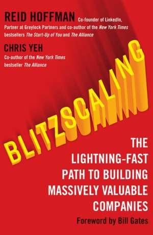 Blitzscaling de Reid Hoffman