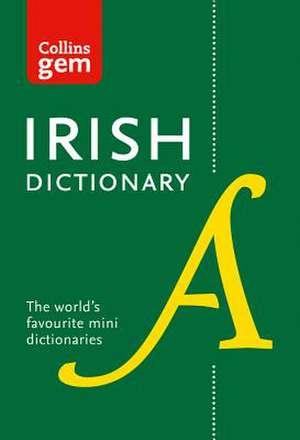 Collins Irish Gem Dictionary de  Collins Dictionaries