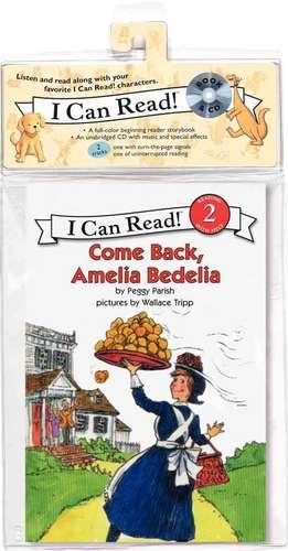 Come Back, Amelia Bedelia Book and CD de Peggy Parish