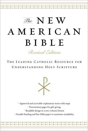The New American Bible, Revised Edition, Hardcover, Black: The Leading Catholic Resource for Understanding Holy Scripture de Thomas Nelson