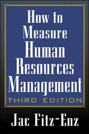 How To Measure Human Resource Management