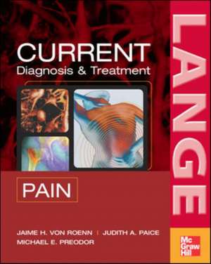 CURRENT Diagnosis & Treatment of Pain