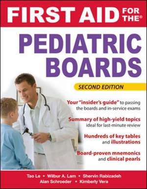 First Aid for the Pediatric Boards, Second Edition