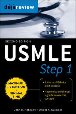 Deja Review USMLE Step 1, Second Edition de John Naheedy