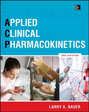 Applied Clinical Pharmacokinetics 3/E