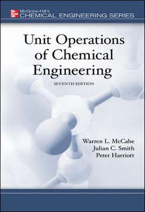 Unit Operations of Chemical Engineering de Warren Mccabe
