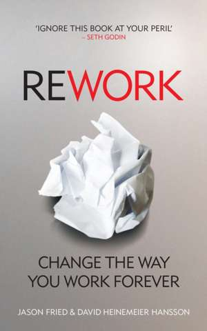 ReWork de Jason Fried