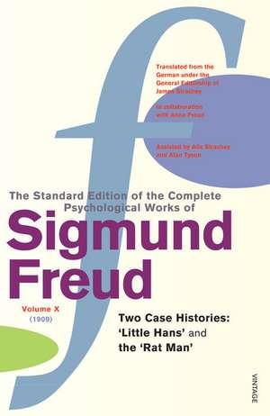 Complete Psychological Works Of Sigmund Freud, The Vol 10 imagine