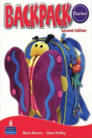 Backpack Starter Workbook with Audio CD de Herrera &. Pinkley
