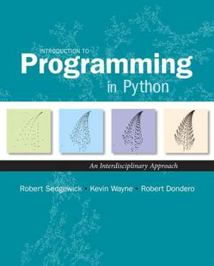 Introduction to Programming in Python imagine