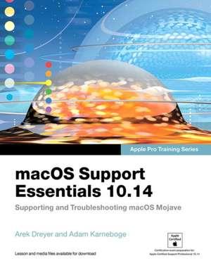 macOS Support Essentials 10.14 de Adam Karneboge