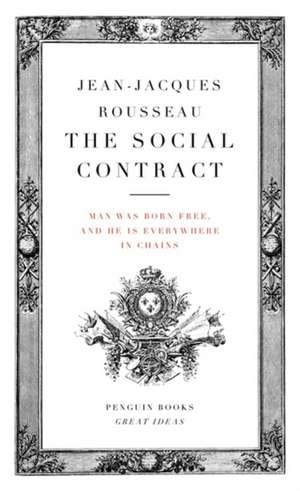 The Social Contract de Jean-Jacques Rousseau