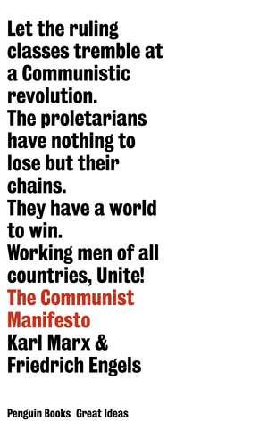 The Communist Manifesto de Friedrich Engels