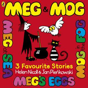 Meg and Mog: Three Favourite Stories de Helen Nicoll