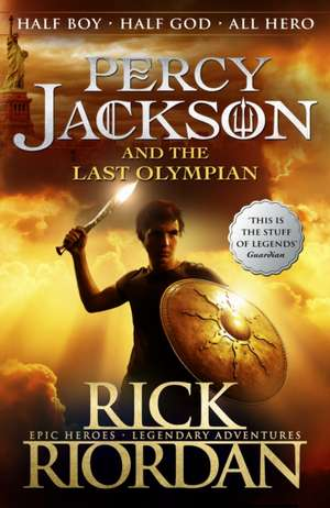 The Last Olympian : Percy Jackson and the Olympians vol 5 de Rick Riordan