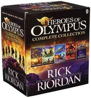 Heroes of Olympus Box Set: 5 Titles de RICK RIORDAN