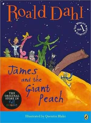 James and the Giant Peach de Roald Dahl