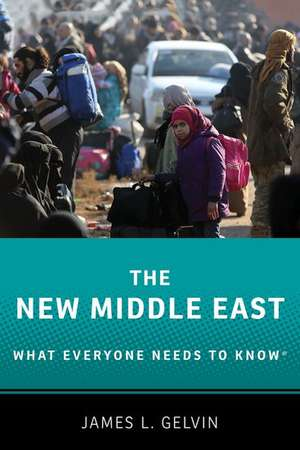 The New Middle East: What Everyone Needs to Know® de James L. Gelvin