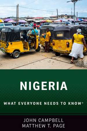 Nigeria: What Everyone Needs to Know® de John Campbell
