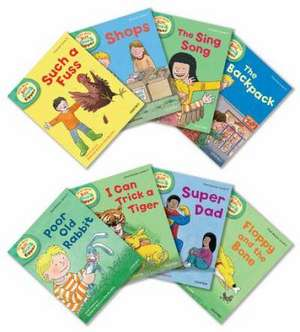 Oxford Reading Tree Read With Biff, Chip, and Kipper: Level 3: Pack of 8