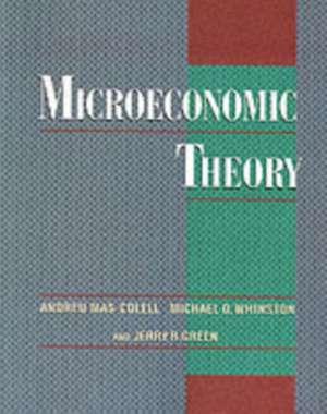 Microeconomic Theory imagine