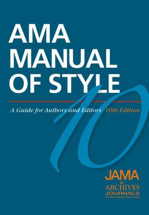 AMA Manual of Style
