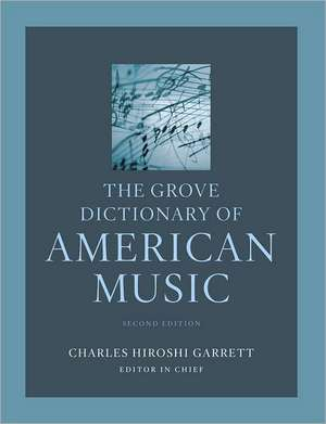 The Grove Dictionary of American Music imagine