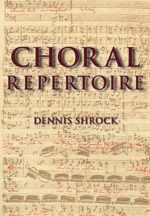 Choral Repertoire imagine