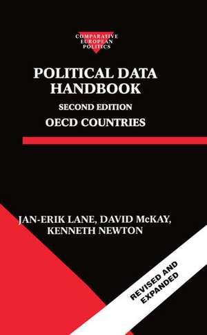 Political Data Handbook: OECD Countries de Jan-Erik Lane
