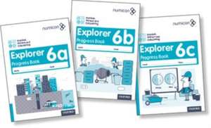 Numicon: Number, Pattern and Calculating 6 Explorer Progress Books ABC (Mixed pack) de Tony Wing