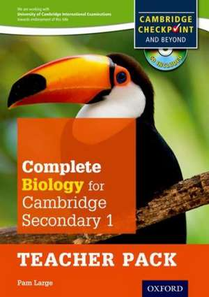 Complete Biology for Cambridge Lower Secondary Teacher Pack (First Edition) imagine