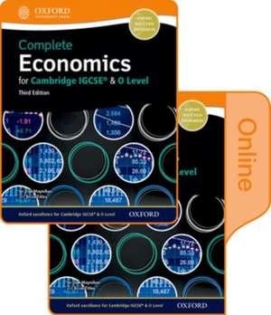 Complete Economics for Cambridge IGCSE® and O-level: Print & Online Student Book Pack de Dan Moynihan
