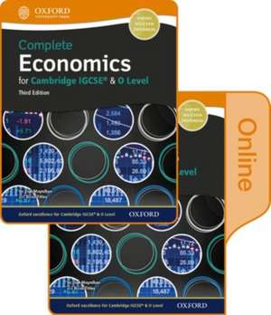 Complete Economics for Cambridge IGCSE and O Level Print & Online Student Book de Dan Moynihan