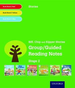 Oxford Reading Tree: Level 2: Stories: Group/Guided Reading Notes de Roderick Hunt