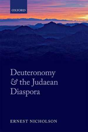 Deuteronomy and the Judaean Diaspora