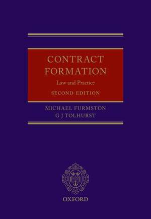 Contract Formation: Law and Practice de Michael Furmston