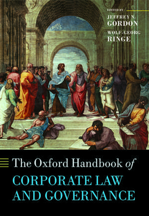 The Oxford Handbook of Corporate Law and Governance de Jeffrey N. Gordon