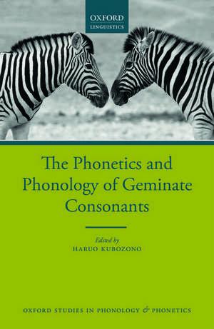 The Phonetics and Phonology of Geminate Consonants