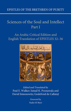 Sciences of the Soul and Intellect, Part I