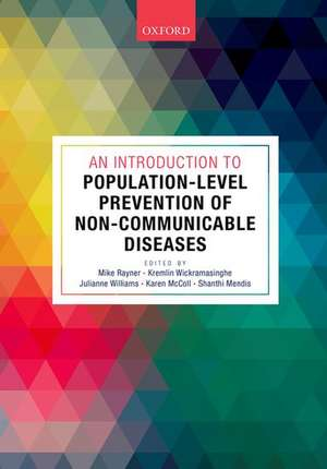 An Introduction to Population-level Prevention of Non-Communicable Diseases de Mike Rayner