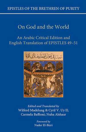 On God and the World: An Arabic Critical Edition and English Translation of Epistles  49-51 de Wilferd Madelung
