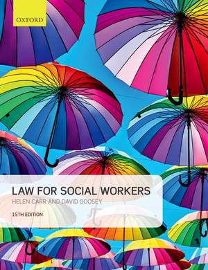 Law for Social Workers de Helen Carr