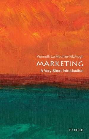 Marketing: A Very Short Introduction de Kenneth Le Meunier-FitzHugh