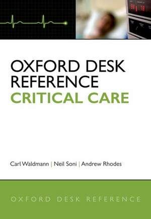 Oxford Desk Reference: Critical Care